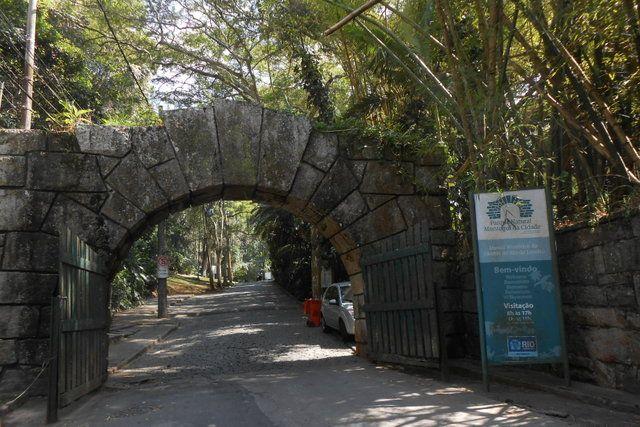 Acceso principal al Parque da Cidade Rio de Janeiro