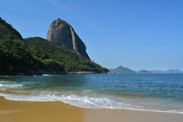 Pan de Azúcar desde la Playa Vermelha Rio de Janeiro