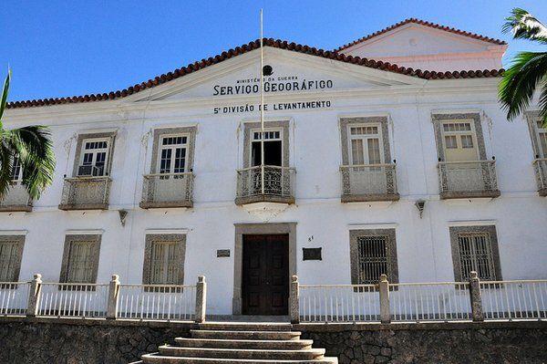 Antiguo Palacio Episcopal Museo Cartográfico del Ejercito Fortaleza da Conceiçao Rio de Janeiro