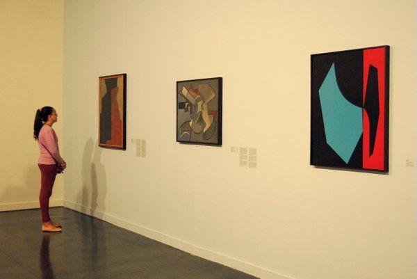 Piezas de la exposición permanente Museo de Arte Moderno Rio de Janeiro MAM Rio de Janeiro