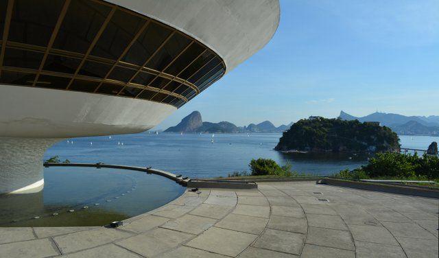 Museo MAC Niteroi Museo de Arte Contemporaneo Rio de Janeiro