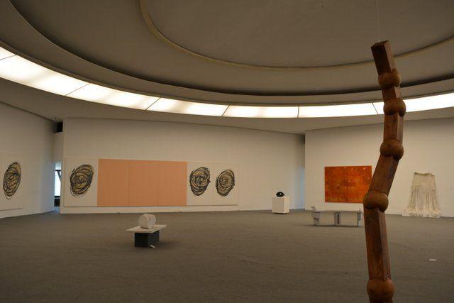 Obras de la colección João Sattamini Museo MAC Niteroi Rio de Janeiro Museo de Arte Contemporaneo