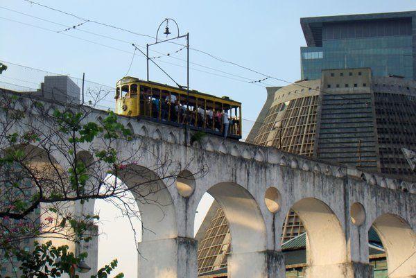 Bondinho de Santa Teresa Arcos de Lapa Rio de Janeiro