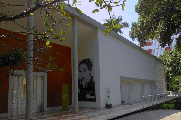 Acceso principal al Instituto Moreira Salles Rio de Janeiro