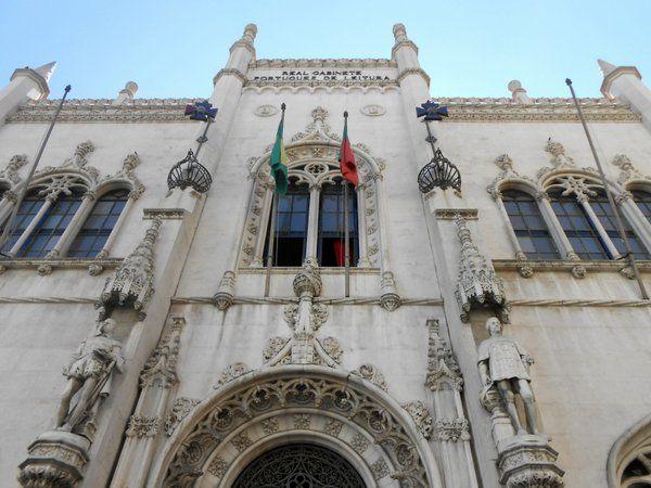 Real Gabinete Portugués de Lectura Monumentos de Rio de Janeiro