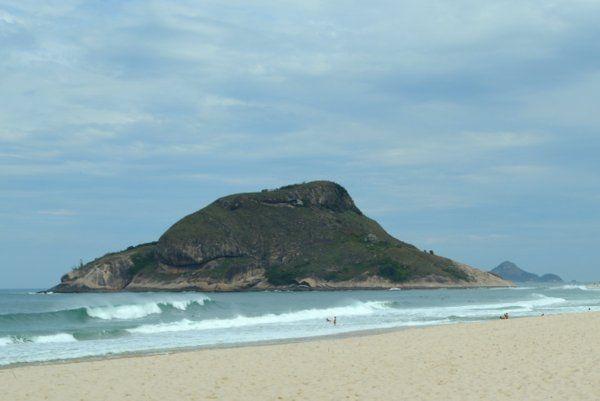 Pedra do Pontal Rio de Janeiro playa de recreio dos bandeirantes