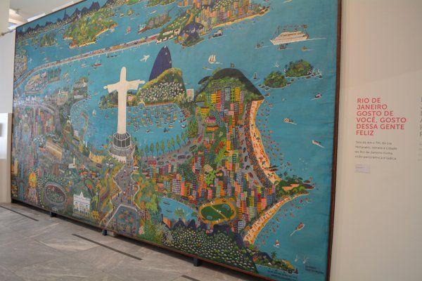 """""""Rio de Janeiro, gosto de você, gosto dessa gente feliz"""" de Lia Mittarakis Museo de arte naif Rio de Janeiro"""