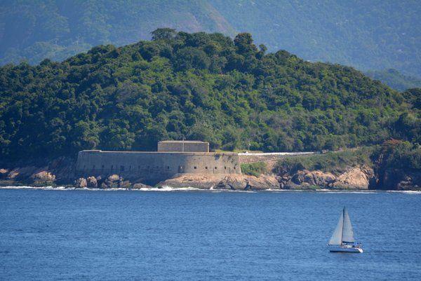 Fuerte de san Diego Fortaleza de Sao Joao Rio de Janeiro