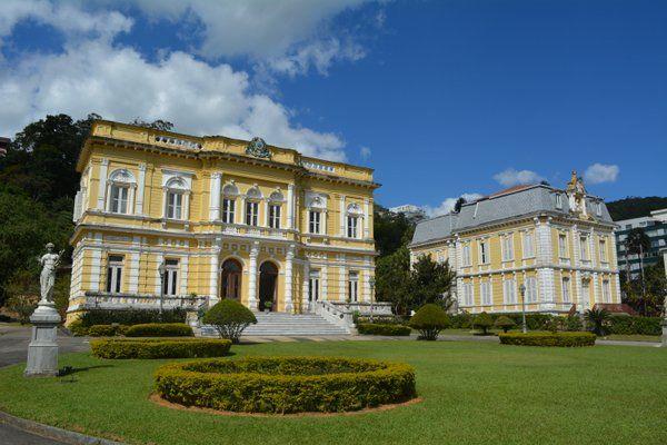 Jardines del Palacio Rio Negro Petropolis Rio de Janeiro