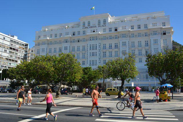 Copacabana Palace Playa de Copacabana Rio de Janeiro