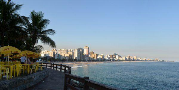 Vista desde el Mirador de Leblon playa de leblon rio de janeiro
