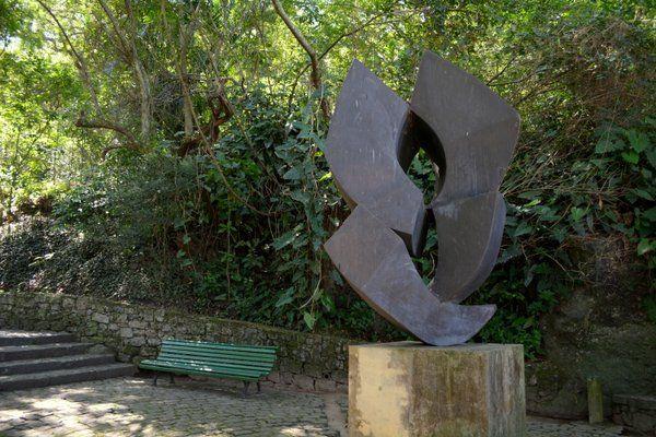 Escultura Parque da Catacumba Rio de Janeiro