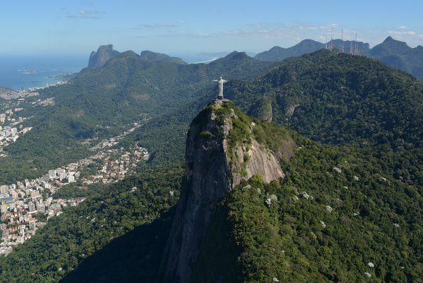 Morro del Corcovado dentro de la Floresta da Tijuca Rio de Janeiro