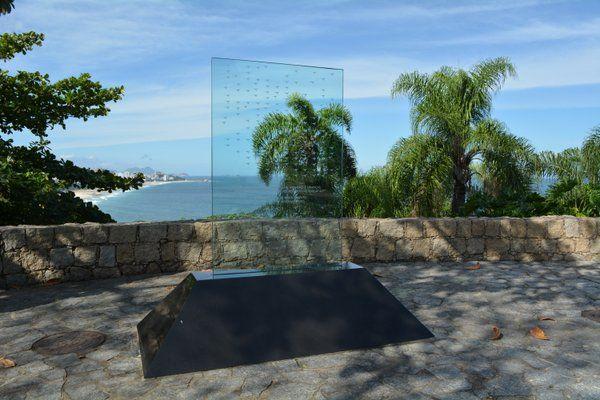 Memorial a la victímas del accidente del vuelo de Air France Parque Dois Irmaos Rio de Janeiro