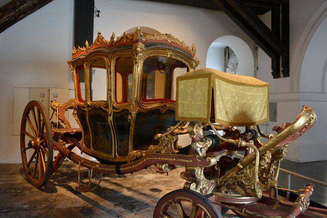 Carruaje del siglo XVIII Museo Historico Nacional Rio de Janeiro