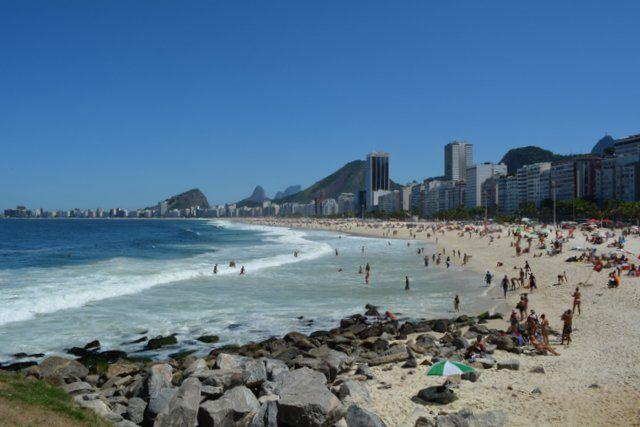 Playa de Leme Rio de Janeiro