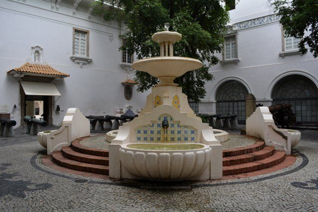Fuente del Patio del Cañones Museo Historico Nacional Rio de Janeiro