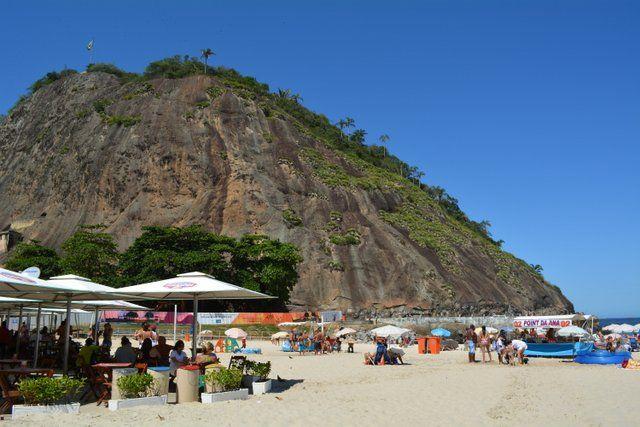 Morro de Leme playa de leme Rio de Janeiro