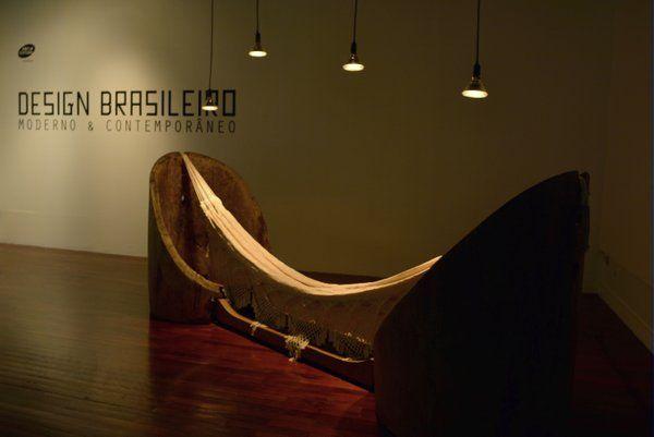Hamaca contemporánea Caixa Cultural Rio de Janeiro