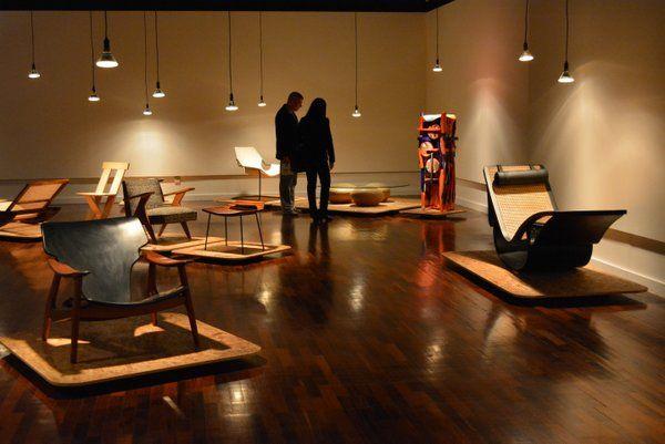 Exposición de diseño brasileño Caixa Cultural Rio Rio de Janeiro