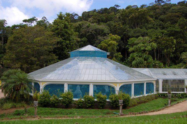 Recinto del Orquideario Jardin Botanico Rio de Janeiro
