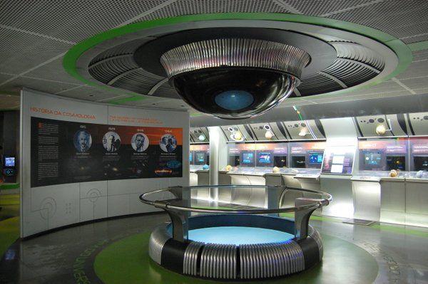 Interior de la Nave Escuela Planetario da Gavea Rio de Janeiro