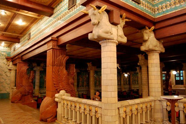 Antiguo restaurante del teatro municipal rio de janeiro