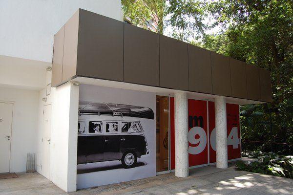 Pequeña sala de exposiciones Instituo Moreira Salles Rio de Janeiro