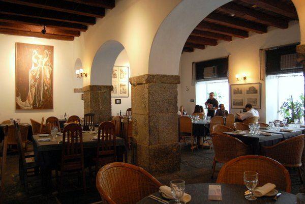 Restaurante Atrium instalado en el Palacio Imperial Rio de Janeiro