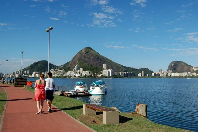 Laguna Rodrigo de Freitas Areas verdes de Rio de Janeiro