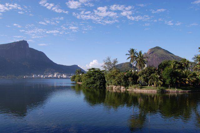 Laguna Rodrigo de Freitas Rio de Janeiro