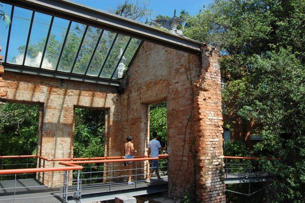 Pasarela Parque das ruinas Rio de Janeiro