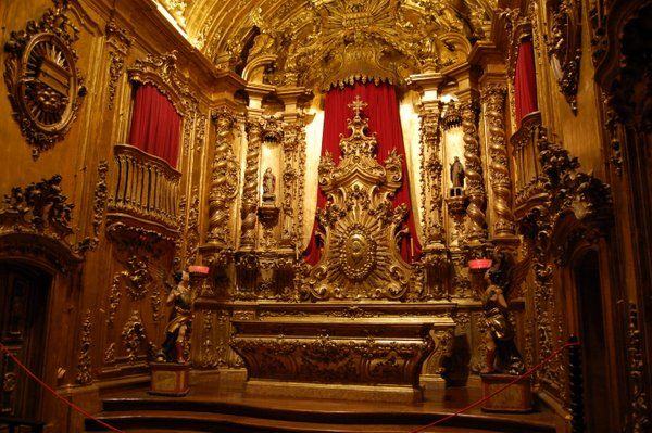 Capilla del Santísimo Monasterio de Sao Bento Rio de Janeiro