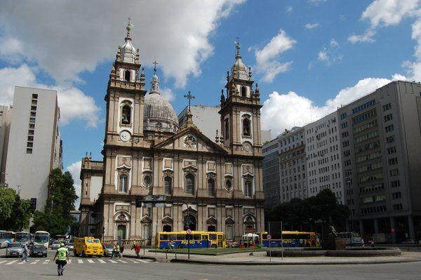 Iglesia de la Candelaria Rio de Janeiro