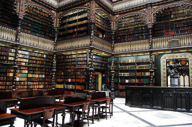 Salon de lectura Real gabinete portugues de lectura Rio de Janeiro