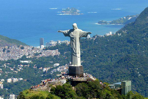Cristo Redentor Monumentos de Rio de Janeiro