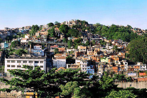 Favela en el Morro da Mangueira Tours por las favelas Rio de Janeiro