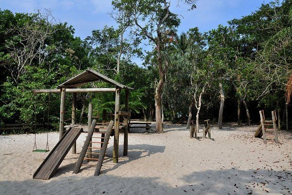 Area de juegos infantiles Parque Marapendi Rio de Janeiro