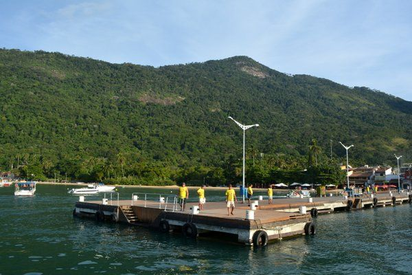 Embarcadero principal de Abraao Ilha Grande Isla Grande Rio de Janeiro