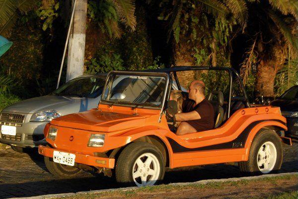 Buggy circulando por la Orla Bardot Búzios Buzios Rio de Janeiro