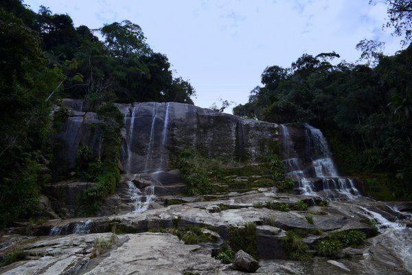 Una de las muchas cascadas que se encuentran en Paraty Rio de Janeiro