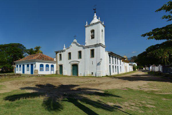 Iglesia de Nossa Senhora das Dores Paraty Rio de Janeiro