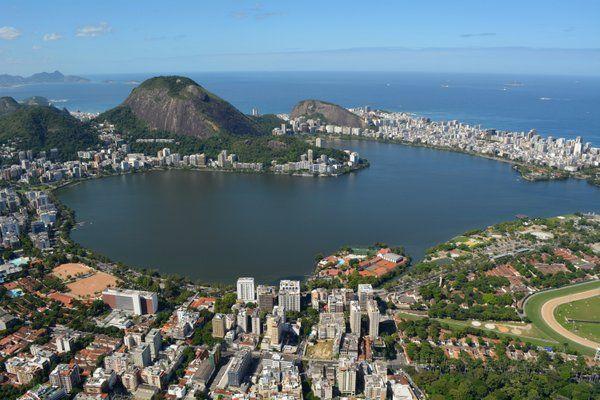 Laguna Rodrigo de Freitas Geografia de Rio de Janeiro