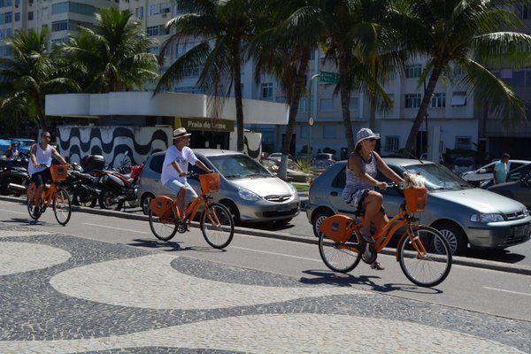 Bicicleta Como moverse en Rio de Janeiro