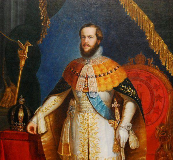 Retrato de Pedro II Historia de Rio de Janeiro