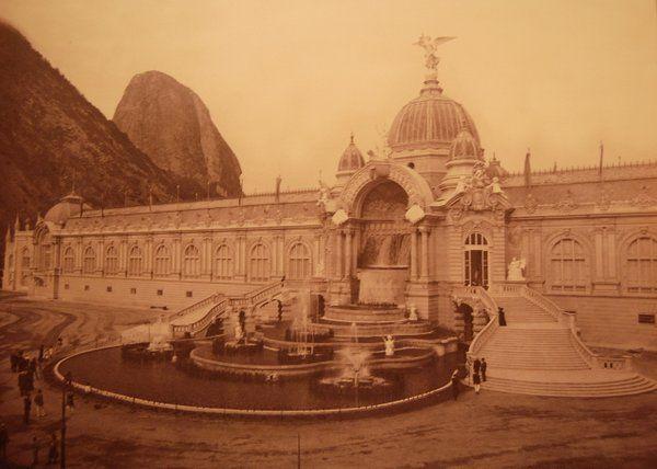 Edificio de la Exposición Universal que tuvo lugar en Urca Historia de Rio de Janeiro
