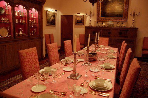 Comedor principal Casa Museo Eva Klabin Rio de Janeiro