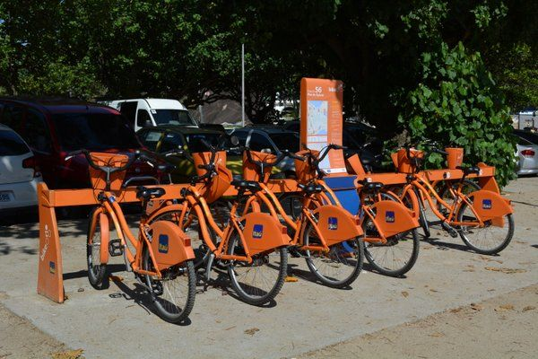 Ciclismo Rio de Janeiro Estación de bicicletas del sistema Bike Rio