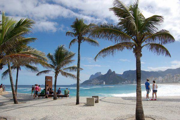 La famosa playa de Ipanema Restaurantes en Ipanema y Leblon Rio de Janeiro