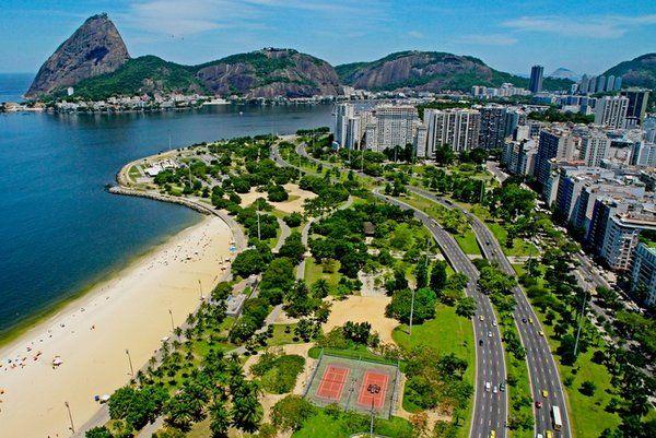 Areas verdes de Rio de Janeiro